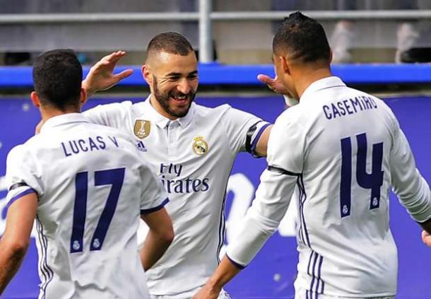 Tutto semplice per il Real Madrid: sconfitto 4-1 l'Eibar fuori casa