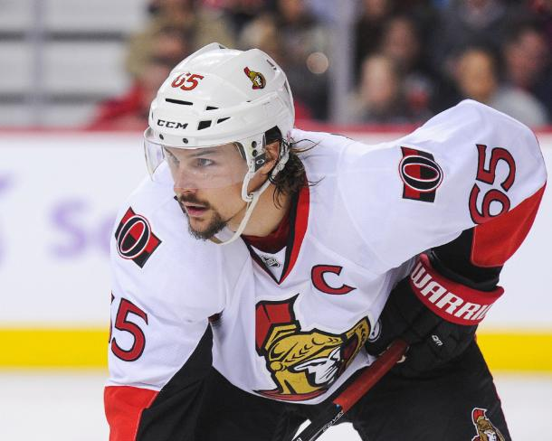 Erik Karlsson is tired of losing and may be leaving Ottawa soon. (Photo: thestar.com)