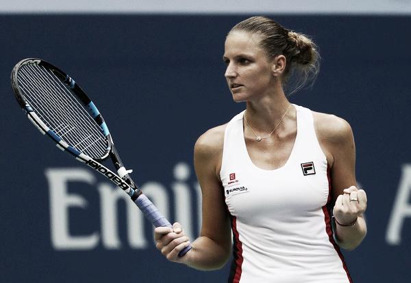 Karolina Pliskova durante la final del año pasado frente a Kerber. Foto: zimbio.com