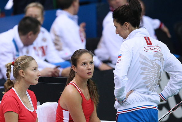Kasatkina will lead Russia in the tie (Photo: Getty Images/Sergei Bobylev)