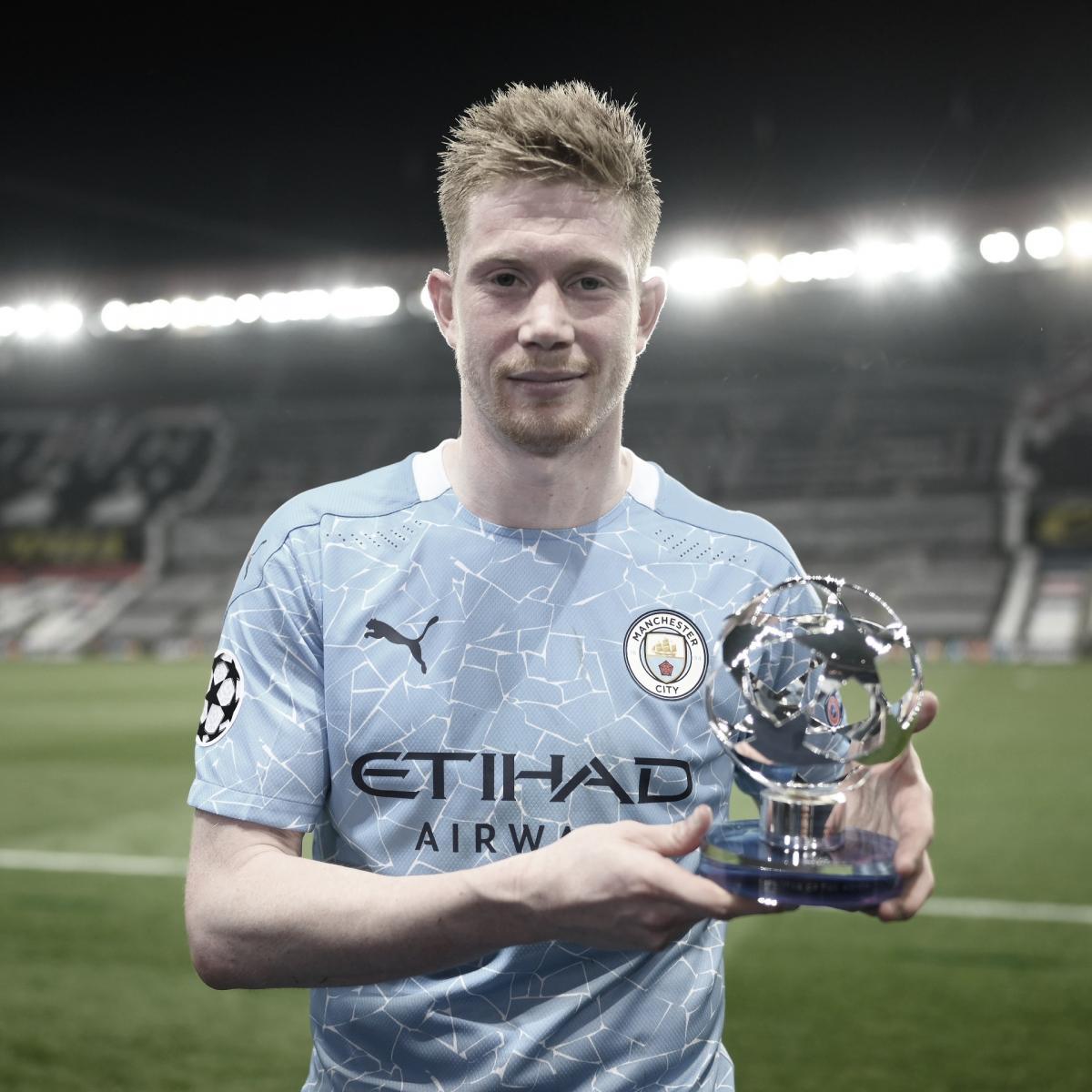 Kevin de Bruyne será el jugador a seguir por parte del Manchester City./ Foto: Champions League