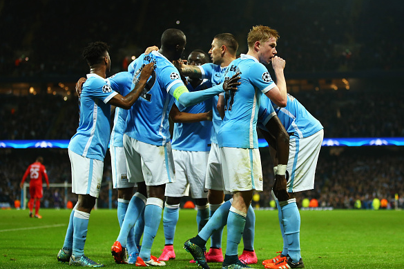 de Bruyne's late heroics helped City steal three points v Sevilla (Picture: Getty)