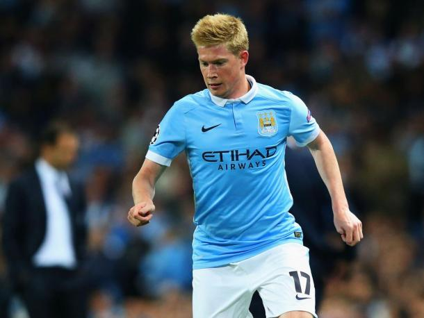 Kevin De Bruyne is set to return for City (photo: getty)