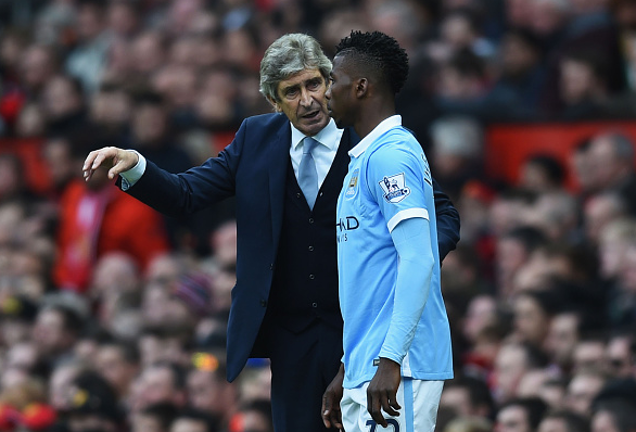 Guiding figure: Pellegrini handed Kelechi his first-team debut, and the Nigerian forward has admitted he's unhappy about the Chilean's departure. | Image: Getty