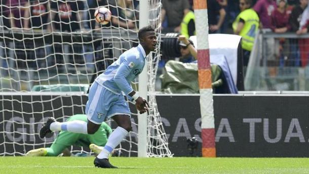 L'esultanza di Keità dopo il gol nel derby | Gazzetta