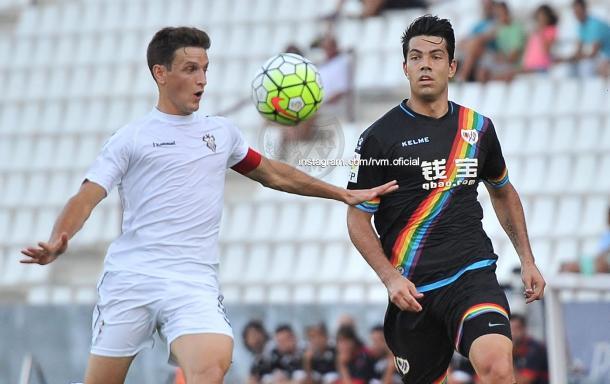 El Albacete dio muy buenas sensaciones en pretemporada | Foto: Rayo Vallecano.
