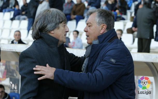 César Ferrando debutó como entrenador del Albacete ante el Mirandés | Foto: LFP.