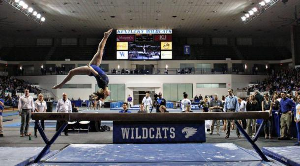 Kentucky on beam