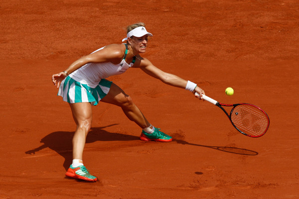 The two-time Grand Slam champion's woes on clay continued (Photo by Adam Pretty / Getty)