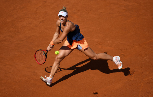 The two-time Grand Slam champion was unable to deal with Kontaveit in Rome (Photo by Gareth Copley / Getty)