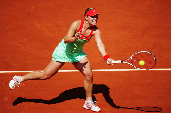 Kerber's solitary quarterfinal appearance at the French Open was in 2012 (Photo by Mike Hewitt / Getty)