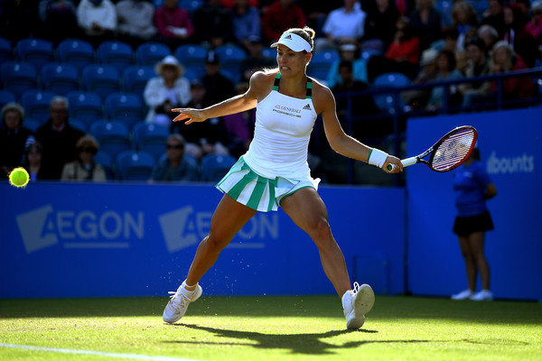 The two-time Grand Slam champion has played some good tennis at Eastbourne and will be looking for a third Slam title at Wimbledon (Photo by Mike Hewitt / Getty)