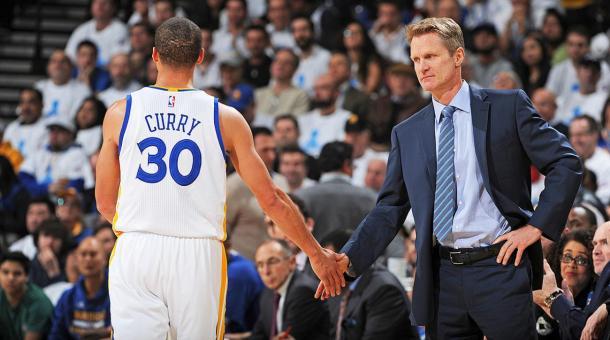 Steve Kerr buscará su tercer anillo y confía en Curry, dos veces MVP (Foto: NBA.com)