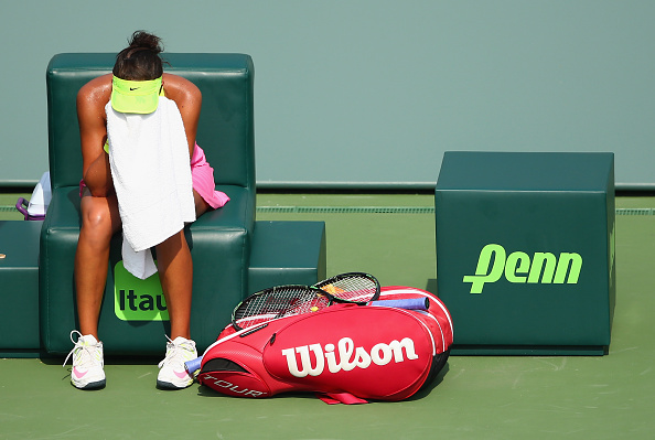 Keys suffered a disappointing early-exit in Miami last year (Photo: Getty Images/Clive Brunskill)