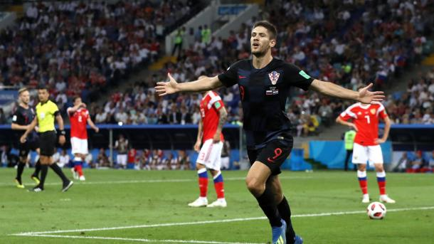 Andrej Kramarić brought Croatia back into the game quickly | Source: Getty Images via FIFA.com