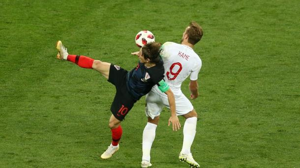 Kane vs Modric, duelo de capitanes en Moscú | Foto: FIFA.com