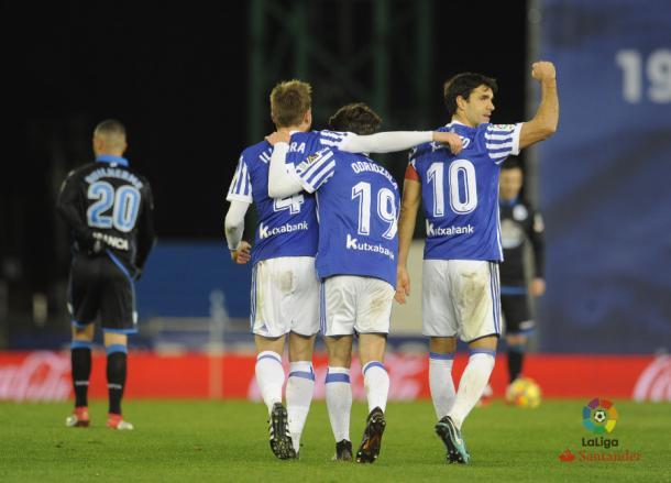 Illarra foi um dos destaques da partida | Foto: Divulgação/La Liga