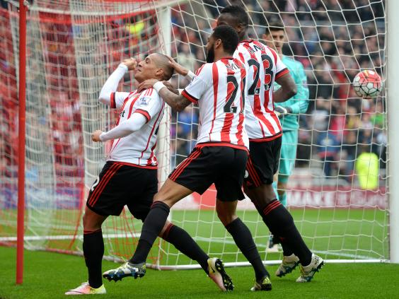Khazri's screamer made the game 1-1 (Photo: Getty Images)