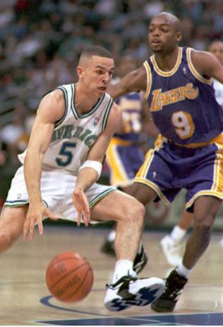 Jason Kidd en su año de Rookie con los Mavericks | Foto: Getty Images