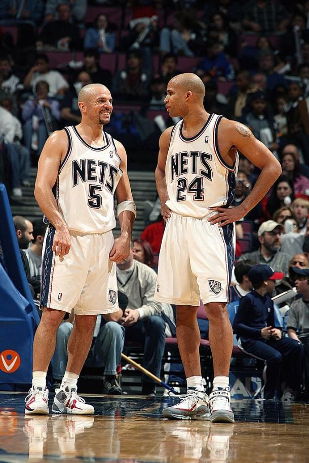Kidd y Richard Jefferson | @BrooklynNets