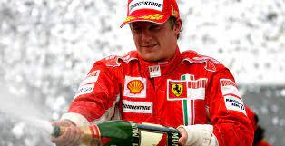Kimi proclamándose campeón en 2007./ Fuente: F1