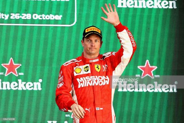 Kimi Raikkonen. Foto: Getty Images.