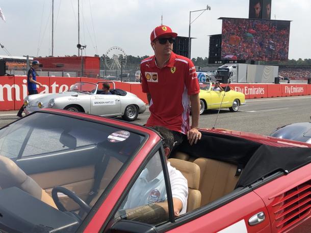 Foto Ferrari Twitter