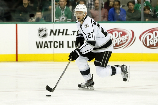 Alec Martinez scored the game-winning goal in overtime on Thursday night. | Photo: USA Today Sports