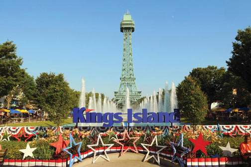 Kings Island is right across the interstate from the Lindner Family Tennis Center (Emory Federal Credit Union)