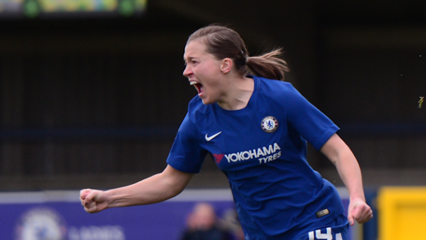 Fran Kirby will be one of the players to watch tomorrow | Source: chelseafc.com