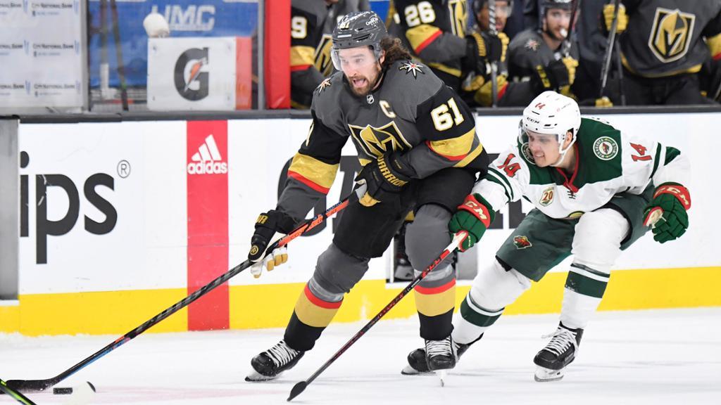 Vegas vs Minnesota   Foto: NHL.com