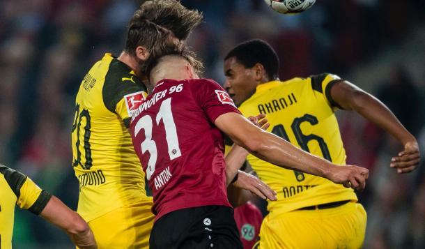 Los de Favre no pudieron ante el Hannover | Foto: @BVB