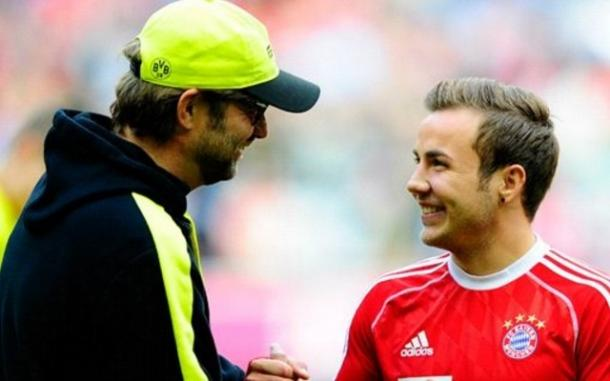 Gotze remains a huge admirer of Klopp, and the feeling is mutual (photo: getty)