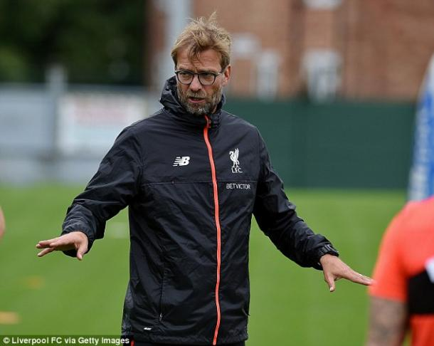 Klopp will have more time on the training pitch this season