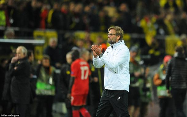 Klopp is leading Liverpool in the right direction, at home and abroad (photo: Kevin Quigley)