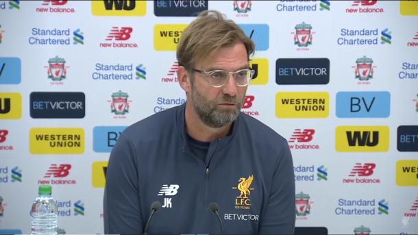Foto: Reprodução / YouTube / Liverpool FC
