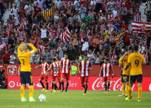 Quase o Girona teve a estreia dos sonhos | Foto: Pedro Salado/Getty Images
