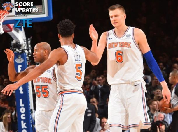 Fonte Immagine: twitter.com/nyknicks