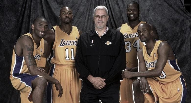 Kobe, Malone, Jackson, O'Niall y Payton, un 'superequipo' que fracasó   Foto: NBA