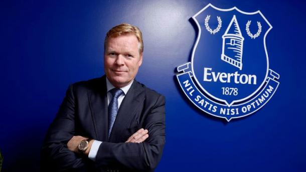 Koeman is the new man at the helm for Everton (photo: EFC)