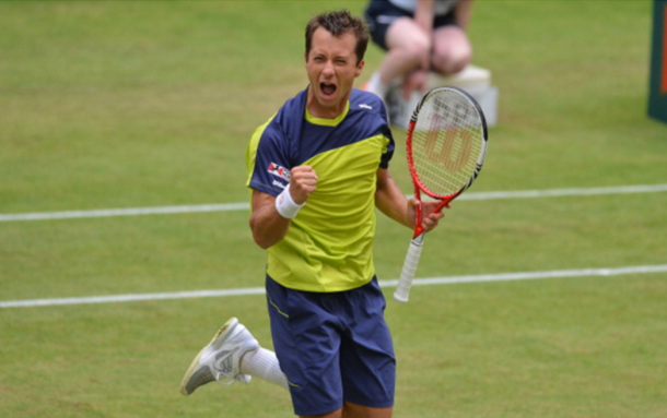 Kohlschreiber has a good history with the Gerry Weber Open (Photo: Getty Images/AFP)