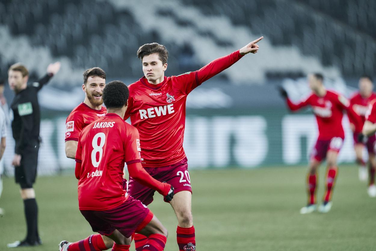 Rexhbeçaj lleva 5 goles en la actual Bundesliga / FOTO: @fckoeln