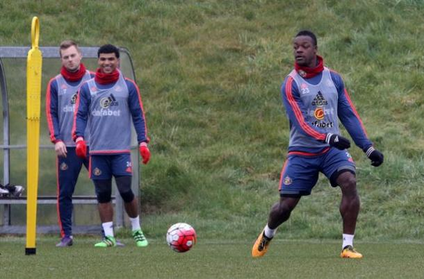 Kone in a training session (photo; Sunderland Chronicle)