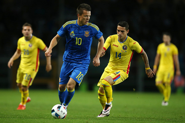 Konoplyanka ha sido lo más destacable de Ucrania en los amistosos. // Foto: Getty Images