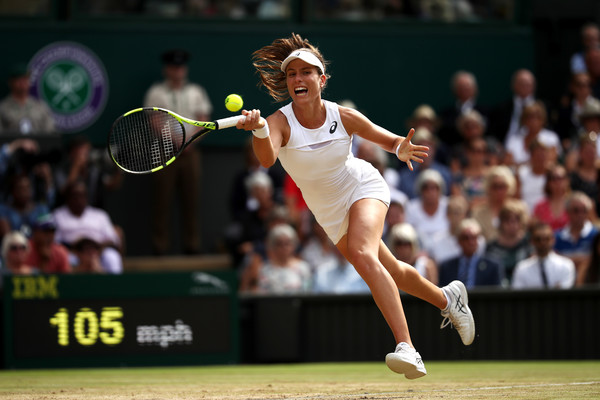 The sixth seed had a very good Wimbledon and she will be a threat at the US Open (Photo by Julian Finney / Getty)