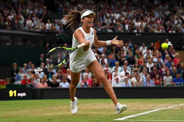 Konta has played tremendously well against Williams but fatigue may be a factor in the outcome (Photo by Shaun Botterill / Getty)