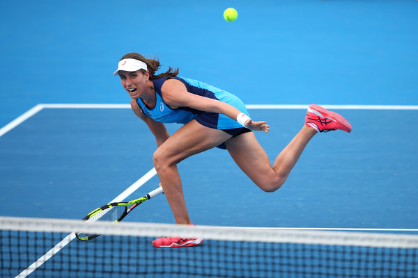 Konta's looking for her second career title (Photo by Cameron Spencer / Getty Images)
