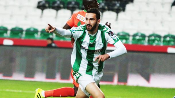 Riad bajic con la maglia del Konyaspor
