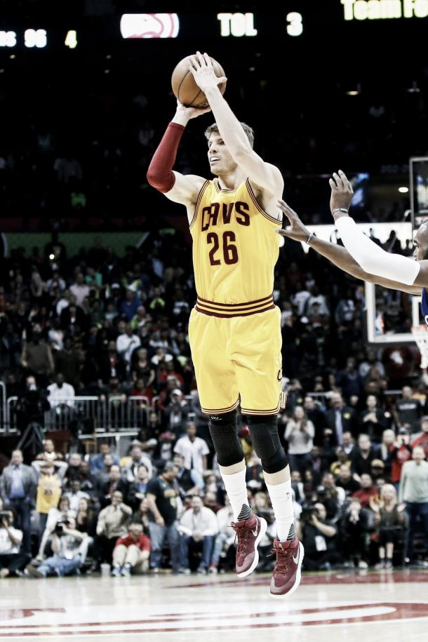 Kyle Korver is widely regarded as one of the best three-point shooters in the league today. Photo: Brett Davis/Associated Press.