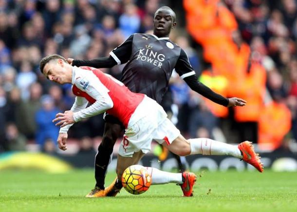 Kante has consistently impressed with his performances since moving to the Midlands | Photo: Getty